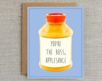 You're The Boss, Applesauce