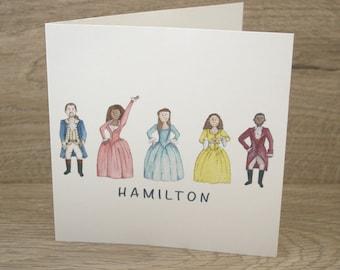 Hamilton Greetings Card
