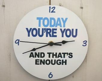 Dear Evan Hansen Inspired Clock