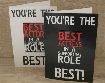 Best Supporting Actor/Actress Card & Fridge Magnet