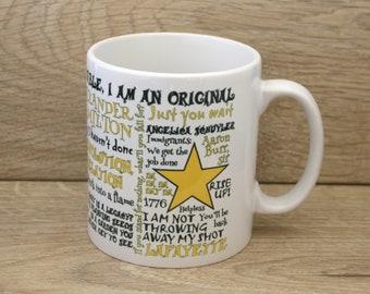 Hamilton Inspired Mug