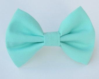 Robin's Egg Blue Bow Tie