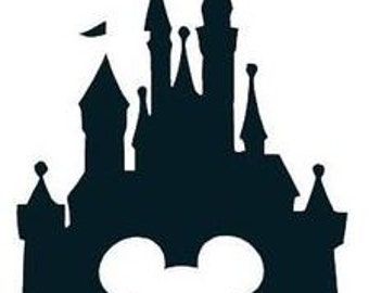 Disney Castle Decal