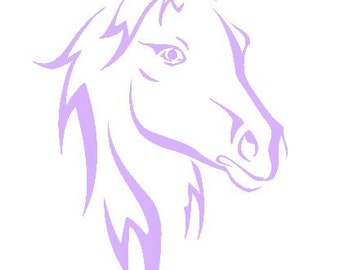 Horse Decal.