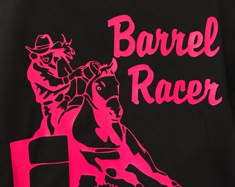 Barrel Racing Ladies Tshirt