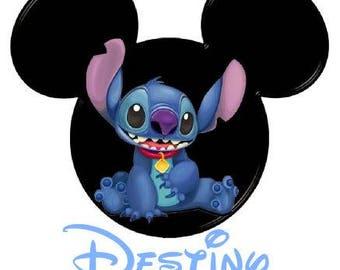 Disney Stitch Inspired Adult Tshirt
