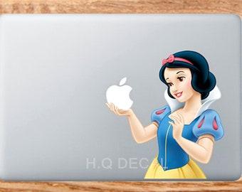 Schneewittchen Mac Sticker Etsy