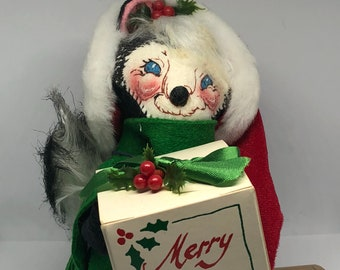 annalee ornament lot of 5 ornaments annalee dolls old christmas decorations annalee christmas decorations annalee skunk annalee mouse - Annalee Christmas Decorations