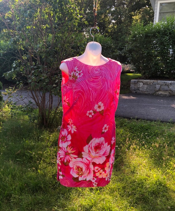 Vintage Hawaiian Dress, Vintage Stan Hicks Hawaiia