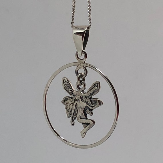 Beautiful Sterling Silver Fairy - Faerie Garden Ny