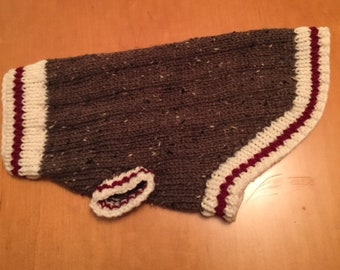 Sock Monkey Dog Sweater M Etsy