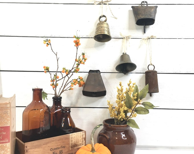 Vintage Bell Collection - Price includes 5 Bells