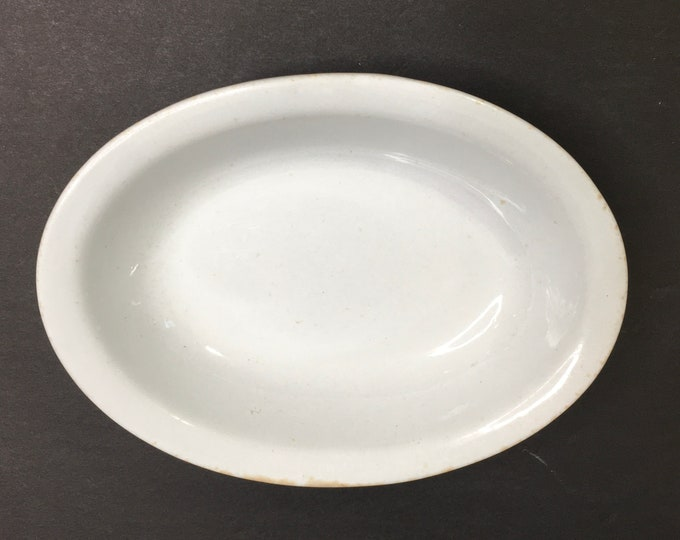 Antique Ironstone Soap Dish - Made in England