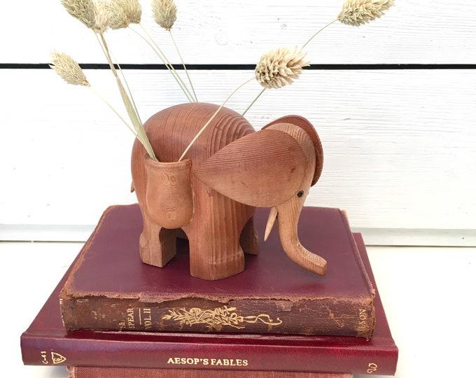 Vintage Elephant - Wood