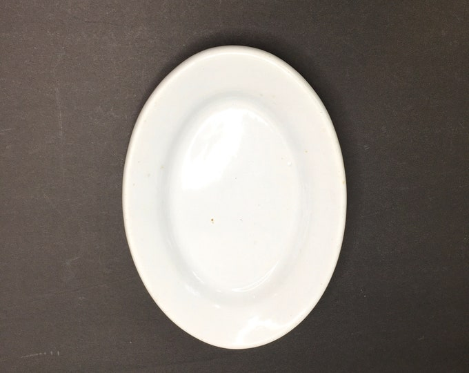 Antique Ironstone Platter - Small Heavy Platter - Made in England