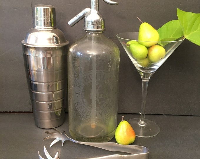 Vintage Seltzer Bottle - Brooklyn