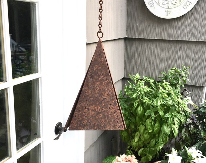 Vintage Bell - Unique 3-sided Pyramid