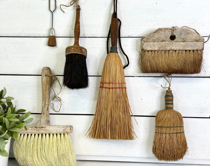 Vintage Broom Collection