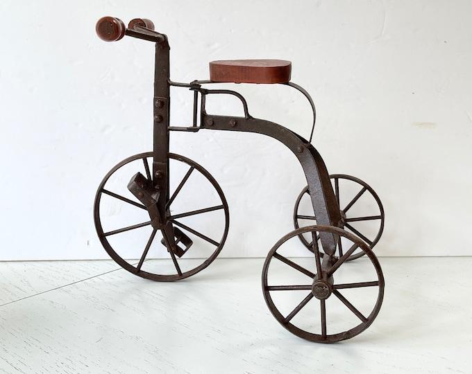 Vintage Tricycle Decor