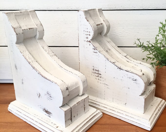 Vintage Corbels - Architectural Salvage (Price is for one pair-two corbels)