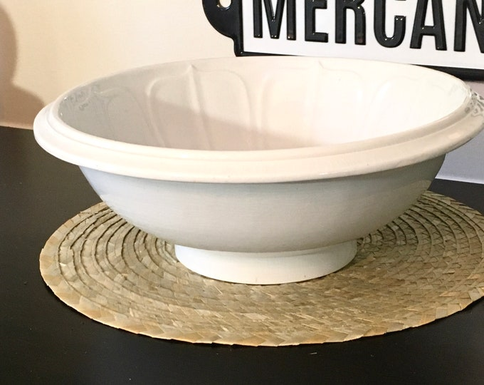 Antique Ironstone Wash Bowl/Basin - TR Boote - England