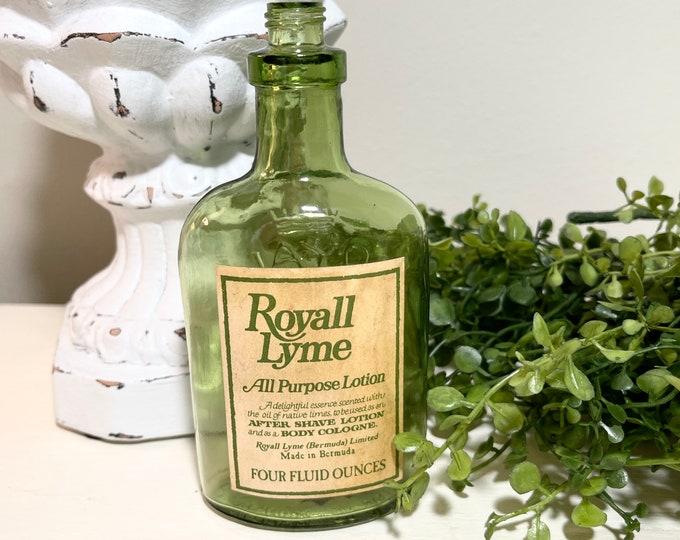 Vintage Bottle - Green - Royal Lyme - Bermuda