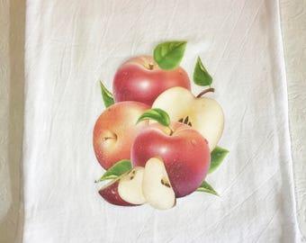 Apple Flour Sack Towel