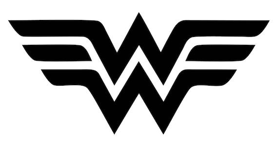 wonder woman logo decal etsy rh etsy com wonder woman logo png wonder woman logo template