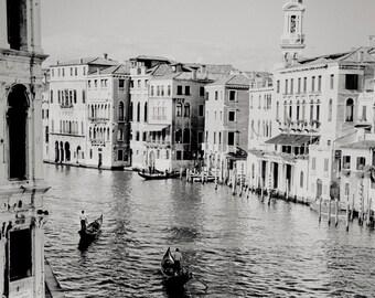 three gondolas, Venice, Italy 2001.