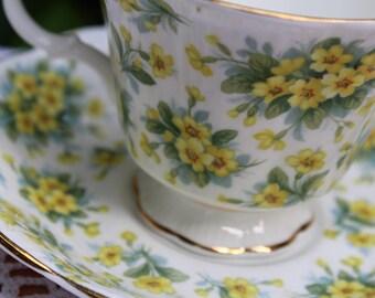 Vintage Royal Albert Teacup and Saucer, Nell Gwynne, Drury Lane