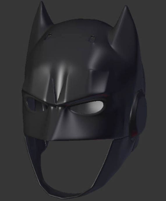 Batman Helmet For 3D-printing