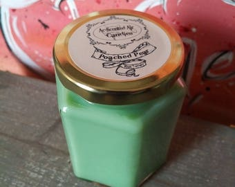 8 Oz Poached Pear Scented Candle