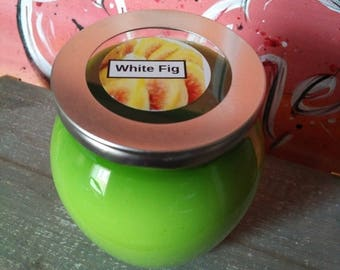 12 Oz White Fig Scented Candle
