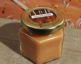 4 Oz Caramel Apple Scented Candle