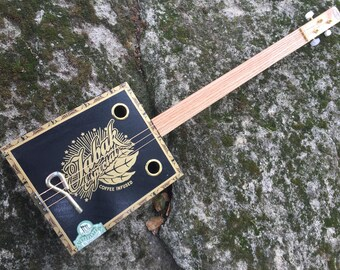 Acoustic Tabak Cigar Box Guitar - Great Tabak Box - Awesome Sound! Great gift for a guitarist!