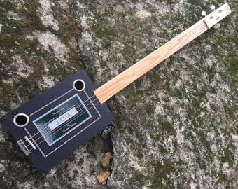 Acoustic Java Cigar Box Guitar - Great gift for a guitarist! Cool Java Box!