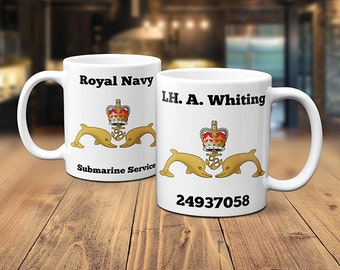 Personalised Gifts For Male British Army Soldier Personalised Mens Army Mug