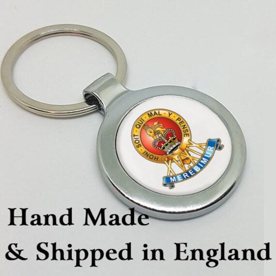 Acrylic Military Key Ring   Royal Hussars