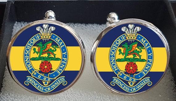 Princess of Wales/'s Royal  Regiment  lapel pin badge .
