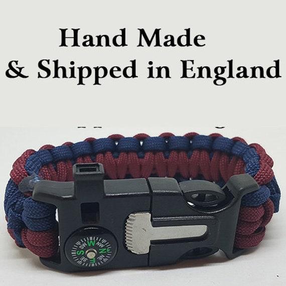 Royal Regiment of Scotland Badged Survival Bracelet Tactical Edge. RROS