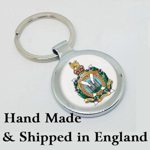 King/'s Own Scottish Borderers KOSB Lapel Pin Badge Gift