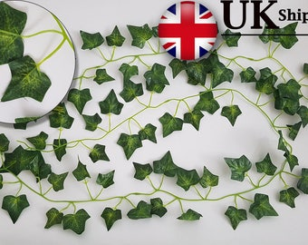 Best Artificial Ivy Garlands Great for Weddings, Halloween, Parties and outside decoration Fave Ivy