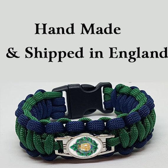 Gordon Highlanders Badged Survival Bracelet Tactical Edge.