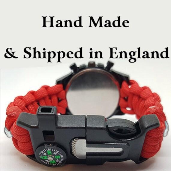 QARNNS Badged Survival Bracelet Queen Alexandras Royal Naval Nursing Service
