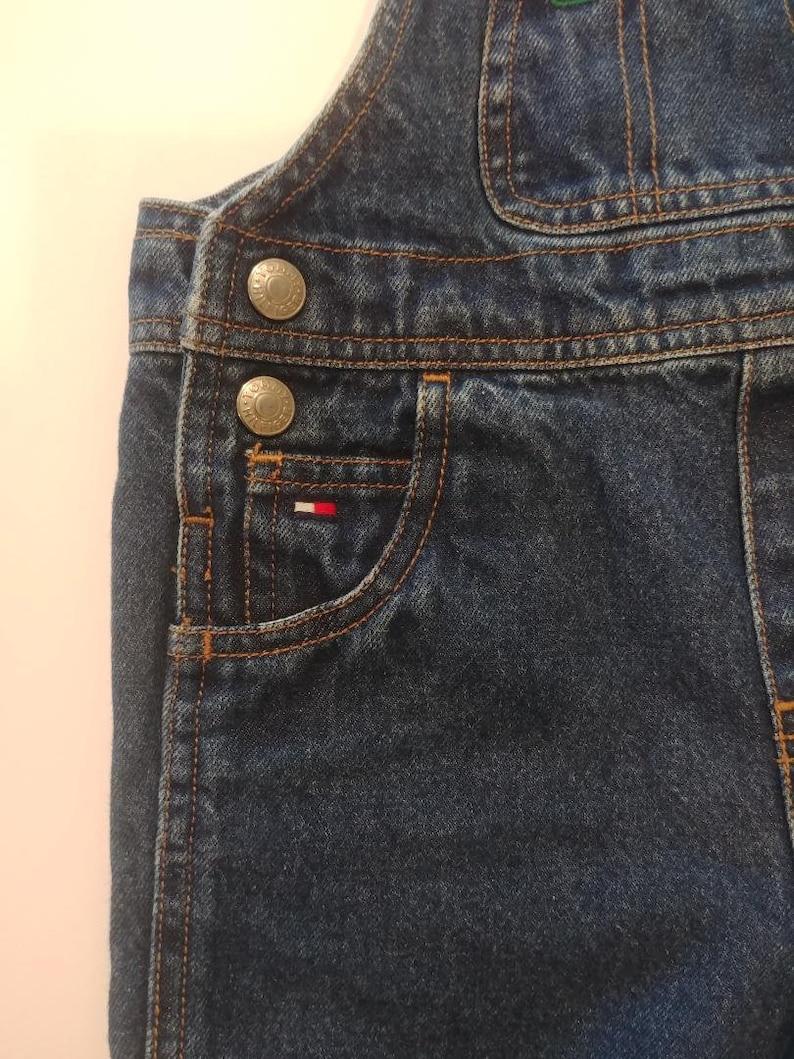 7c177dcb Vintage Tommy Hilfiger Overalls-Kids size 12-18 months | Etsy