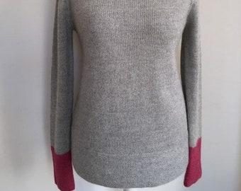 bb960b950d Strickpullover/ Pullover aus babyalpaka Wolle