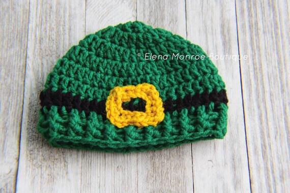 33fb6369b92 Lucky leprechaun hat crochet leprechaun hat knitted