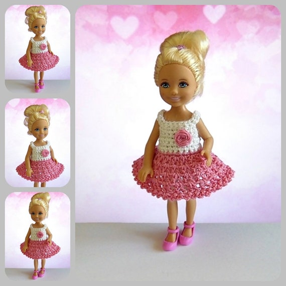 Barbie Kleidung Barbie Puppe Miniatur Kleid Barbie Schwester Etsy