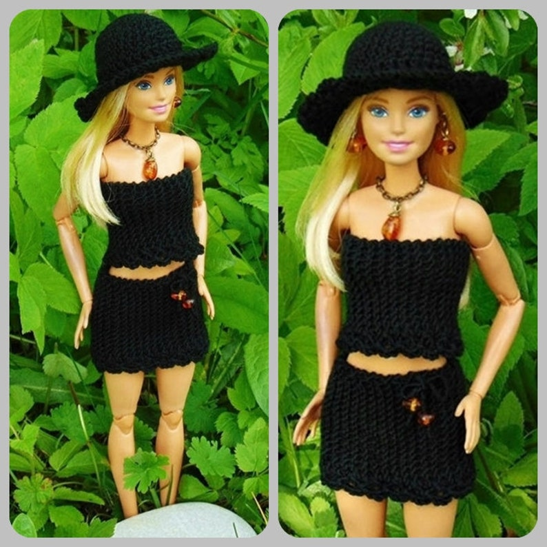 """Black Office Lady Fashion Clothes For 11.5/"""" Dolls Coat /& Shirt /& Skirt Outfits"""
