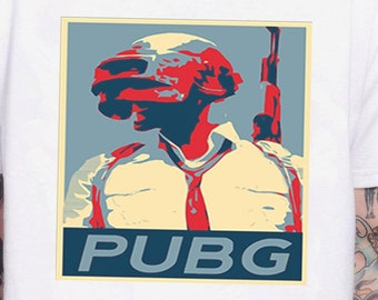 b50129bf2 Pubg Obey Parody Funny Poster Pubg Playerunknown'S Battlegrounds Game  Inspired. Male And Female T-Shirt